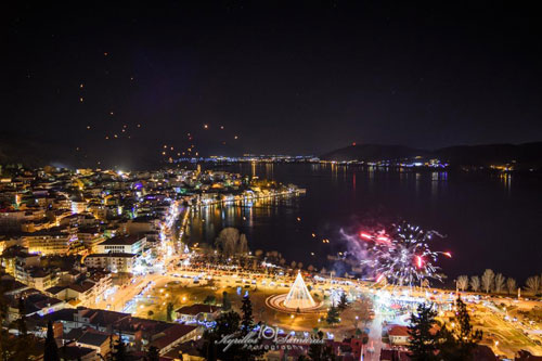 Christmas Tree of Kastoria by kyrillos Samaras